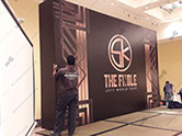 Banner printing and Display and Backdrop